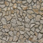 Stone texture 025: Uncoursed limestone rubble wall 100% proof (1500px)