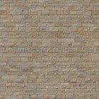 Stone texture 027: Stacked limestone & sandstone wall cladding