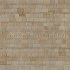 Stone texture 030: Yellow sandstone wall cladding