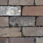 Texture 310: Recycled brick paving 4500 x 4500 px proof