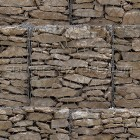 Stone texture 038: Gabion retaining wall 100% proof (1500px)