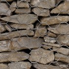 Stone texture 038: Gabion retaining wall 100% proof (4500px)