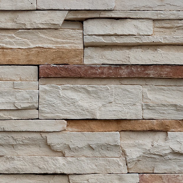 Stone Texture 041 Stacked Stone Wall Cladding Square Texture