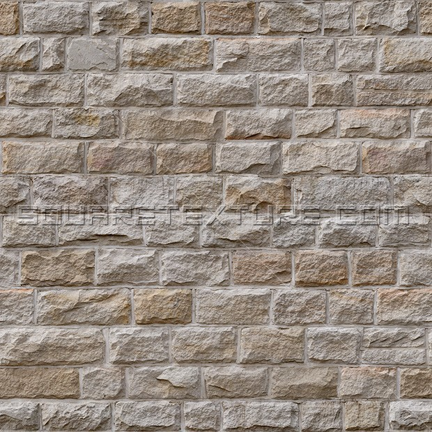Stone Texture 003 Natural Face Sandstone Wall Square Texture