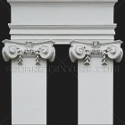 Architectural detail 002: Neoclassical ionic pilasters
