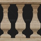 Architectural detail 004: Classical stone balustrade 100% proof (3000px)