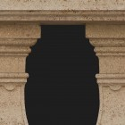Architectural detail 004: Classical stone balustrade 100% proof (7050px)