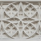 Architectural detail 007: Medieval decorative facade ornament