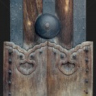 Architectural detail 010: Japanese timber gate post 100% proof (2400px)