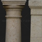 Architectural detail 011: Stylized medieval stone columns 100% proof (1500px)