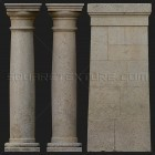 Architectural detail 011: Stylized medieval stone columns full stone columns photo