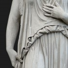 Architectural detail 012: Classical portico stone caryatids 100% proof (6600px)