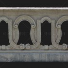Architectural detail 013: Medieval ornamental stone balustrade
