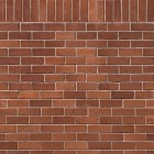 Texture 325: Red brick wall (stretcher & soldier bond) 1500 x 1500 px proof