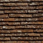 Texture 326: Old reclaimed flat French roof tiles 4500 x 4500 px proof
