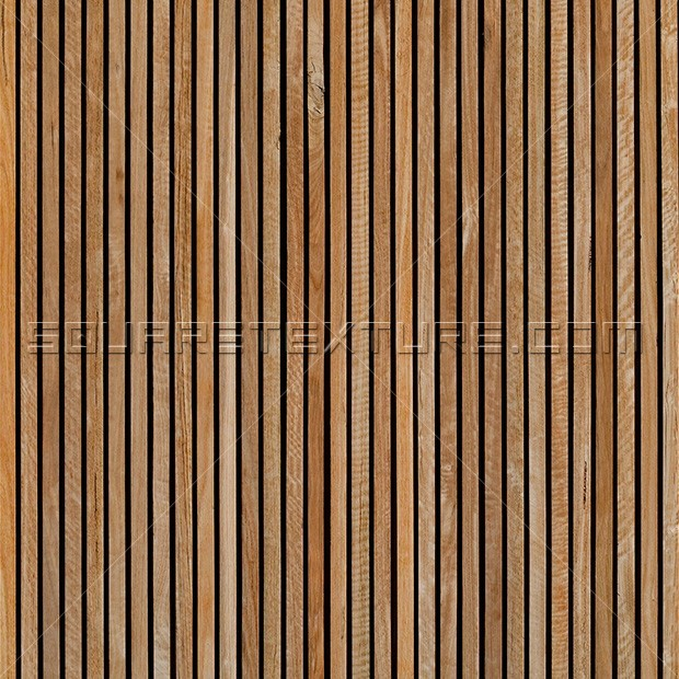 Texture 332 Timber Slat Wall Cladding Square Texture