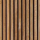 Texture 332: Timber slat wall cladding 4500 x 4500 px proof