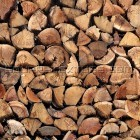 Texture 335: Chopped wood logs 1500 x 1500 px proof
