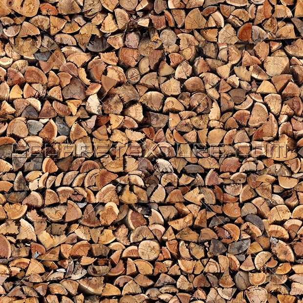 full wood logs texture