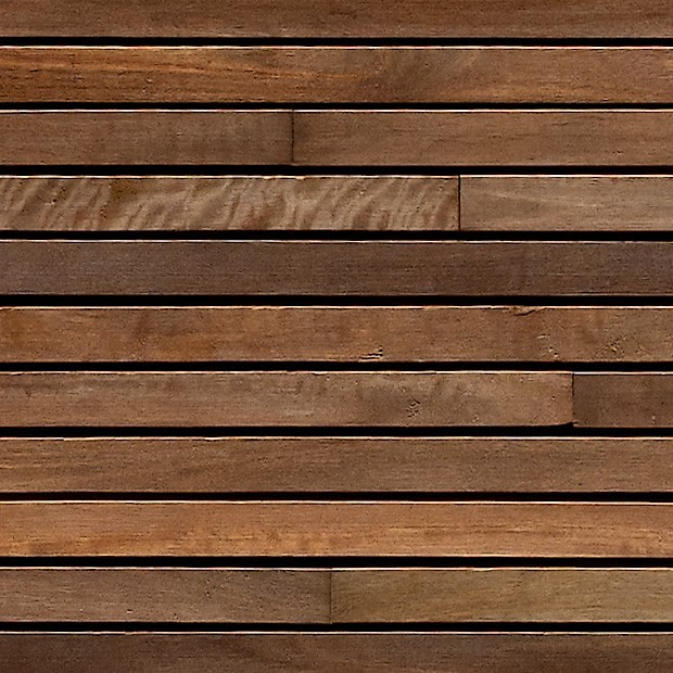 Texture timber slats wall cladding square