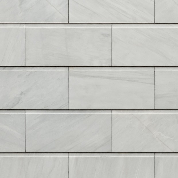 Marble Wall Cladding Details : Stone texture carrara marble wall cladding square