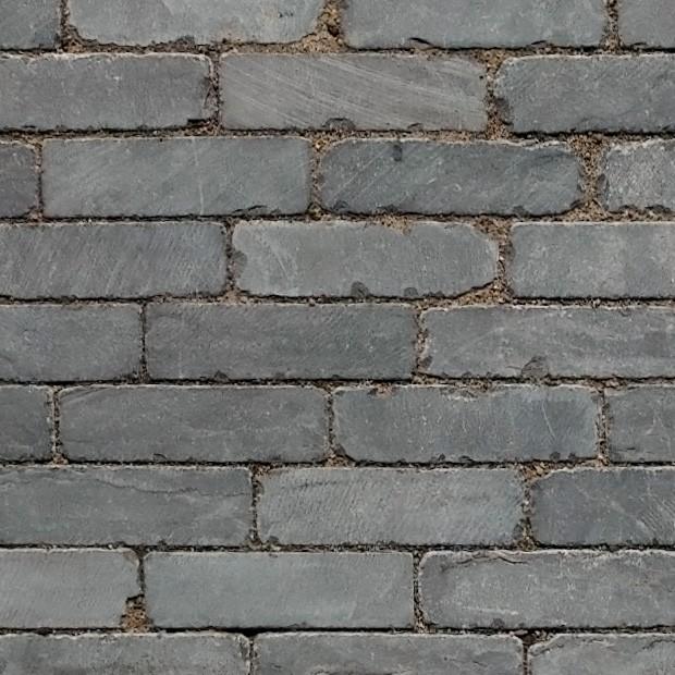 Stone texture 055 grey basalt bluestone pavers square for Basalt pavers
