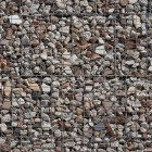 Stone texture 005: Recycled gabion wall 100% proof (1500px)