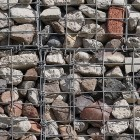 Stone texture 005: Recycled gabion wall 100% proof (4500px)