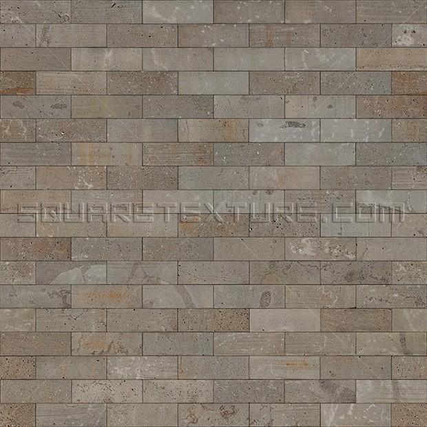 Stone Texture 007 Basalt Ashlar Wall Square Texture