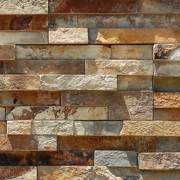 Stone Texture 012 Stacked Veneer Wall Square Texture
