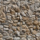 Stone texture 015: Sandstone rubble wall cladding 100% proof (1500px)
