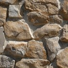 Stone texture 015: Sandstone rubble wall cladding 100% proof (4500px)