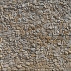 Stone texture 015: Sandstone rubble wall cladding
