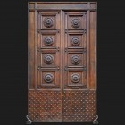 Door photo 008: Old Italian heritage wooden door door photo