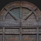 Door photo 009: Historic Italian wooden front door 100% proof (1500px)