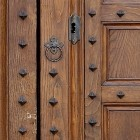 Door photo 011: Old Italian wooden entrance door 100% proof (6000px)