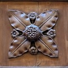Door photo 019: Old historic Florentine wooden door 100% proof (7000px)