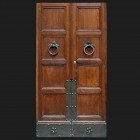 Door photo 034: Old Italian paneled wooden door
