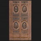 Door photo 037: Historic Italian wooden carved door